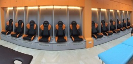 Hougang United footballers will have a brand new dressing room for the new season of the S.League.